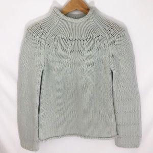 Vintage Express cozy mock neck sweater